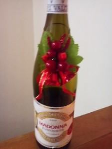 ワイン デコレーション